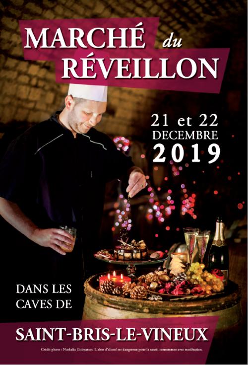 Marché de Noël dans les caves les 21 et 22 décembre 2019